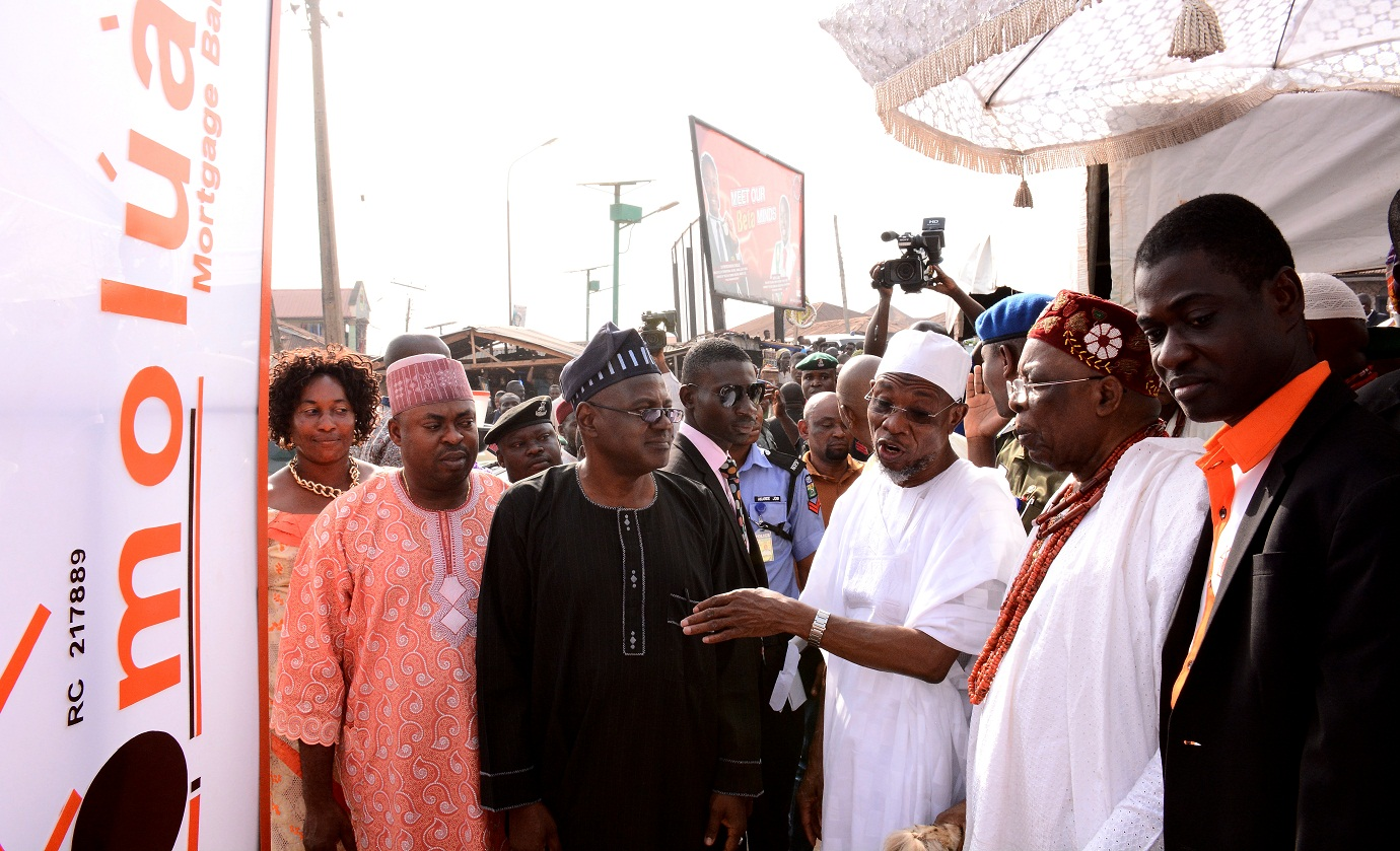 Official Commissioning Of Omoluabi Mortgage Bank